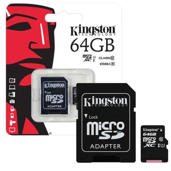 Kingston_Adapter_SD_64GB_Kaart_WeFix